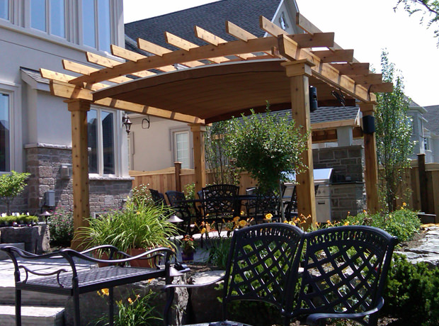 arched canopy oakville shadefx is the only retractable canopy that can