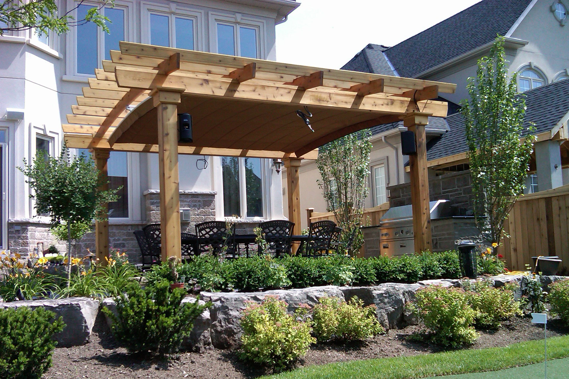 decorative pergola shade canopy. Black Bedroom Furniture Sets. Home Design Ideas