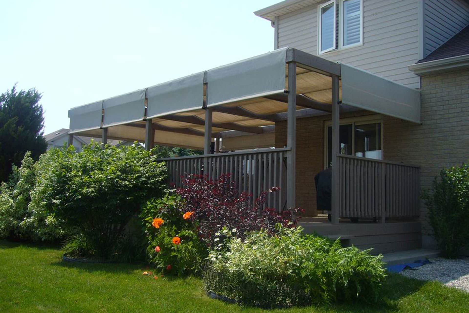 The story of shadefx canopies - Shade ideas for a deck ...