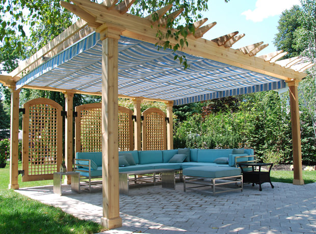 Remarkable DIY Retractable Pergola Shade Canopy 620 x 460 · 441 kB · jpeg