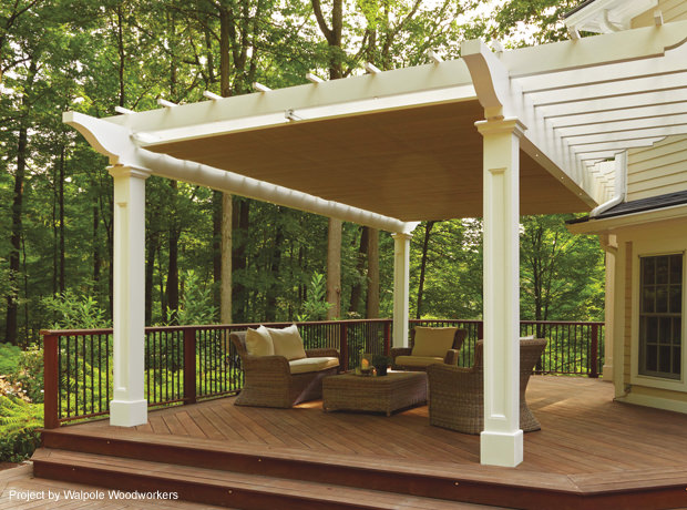 Showcase Gallery | ShadeFX Canopies - Pergola Sliding Shade