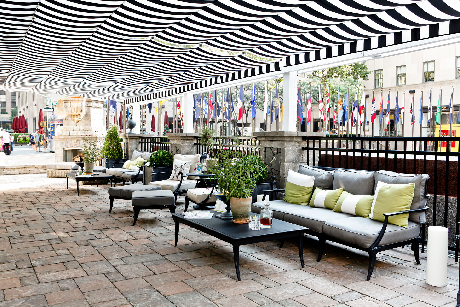 Retractable Patio Cover At Rockefeller Center Shadefx