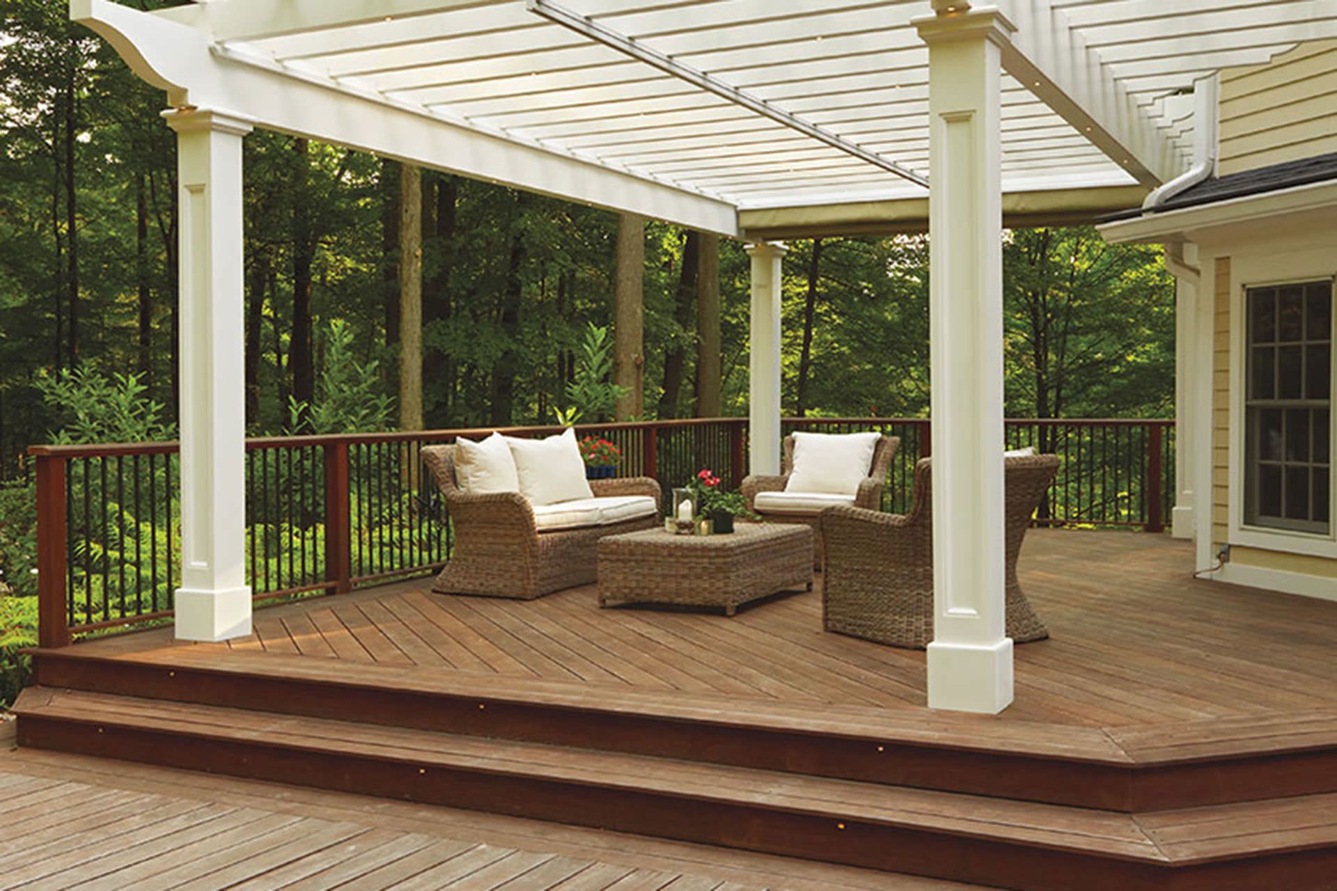 Most Pergolas Fall Into The Category Of Attached, Or Freestanding. This  Example Near Morris Plains, New Jersey Is A Rare And Exceptionally Well  Designed ...