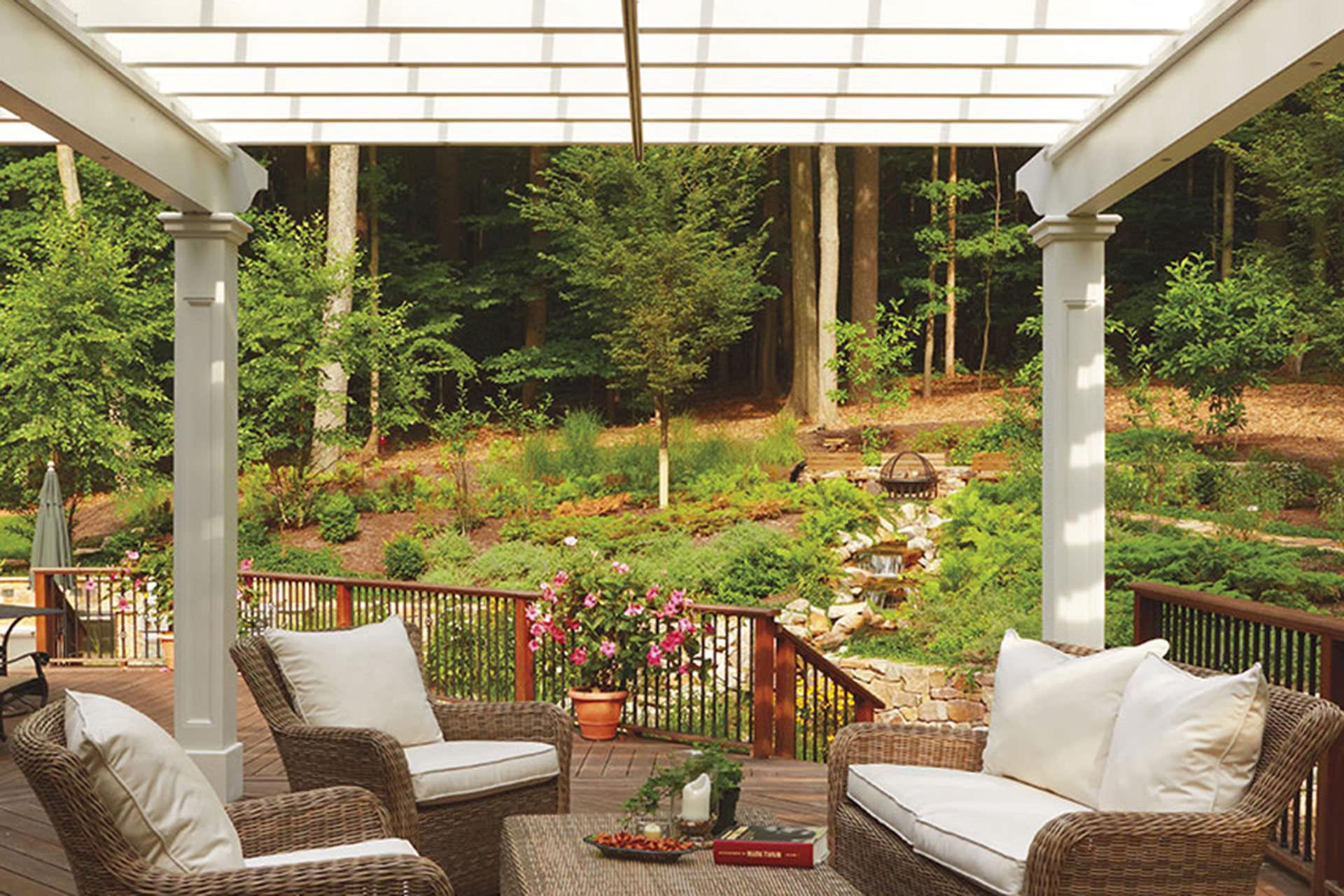 Retractable Pergola Canopy in Morris Plains | ShadeFX Canopies