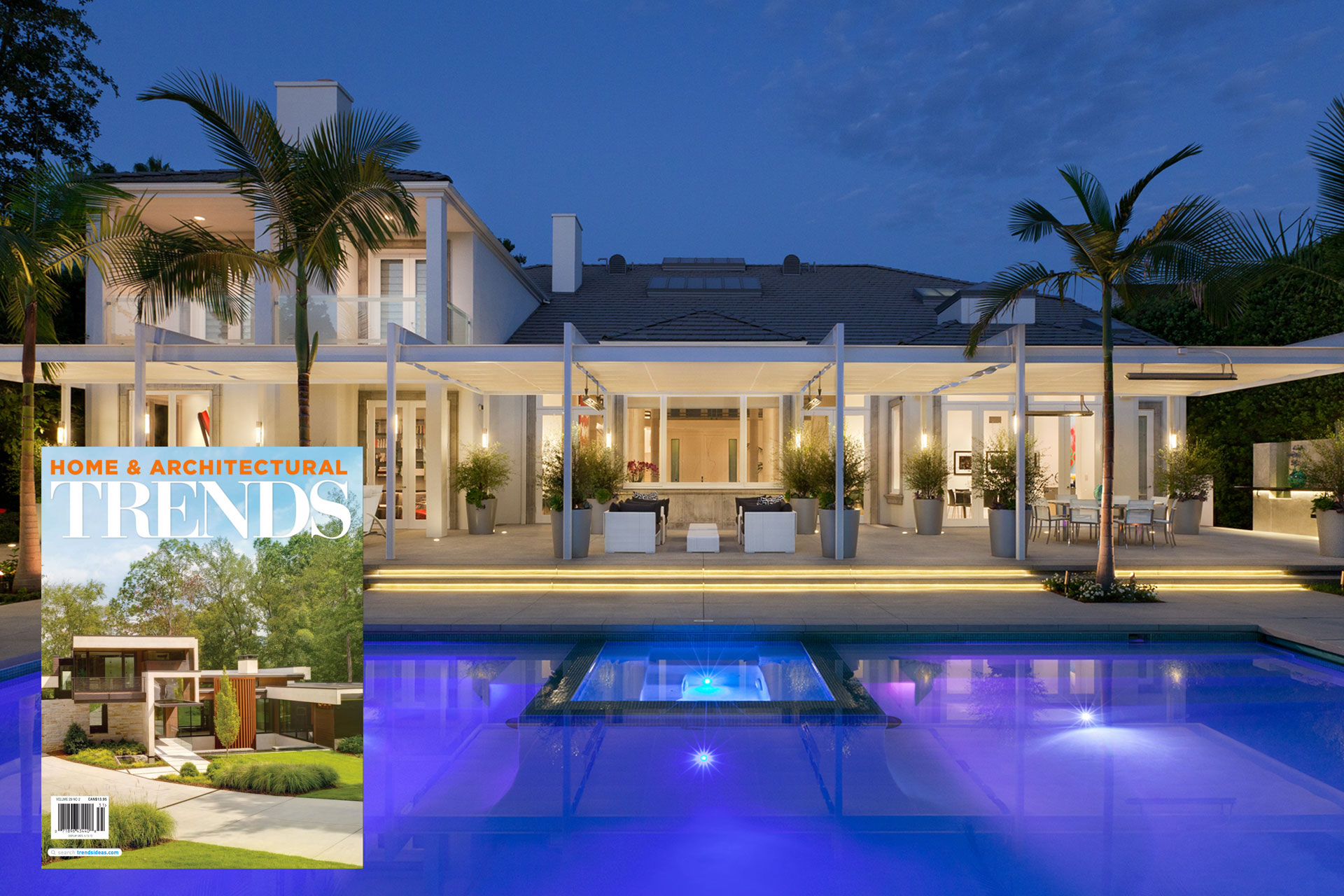 Home And Architectural Trends Magazine shadefx canopies featured in trends magazine!