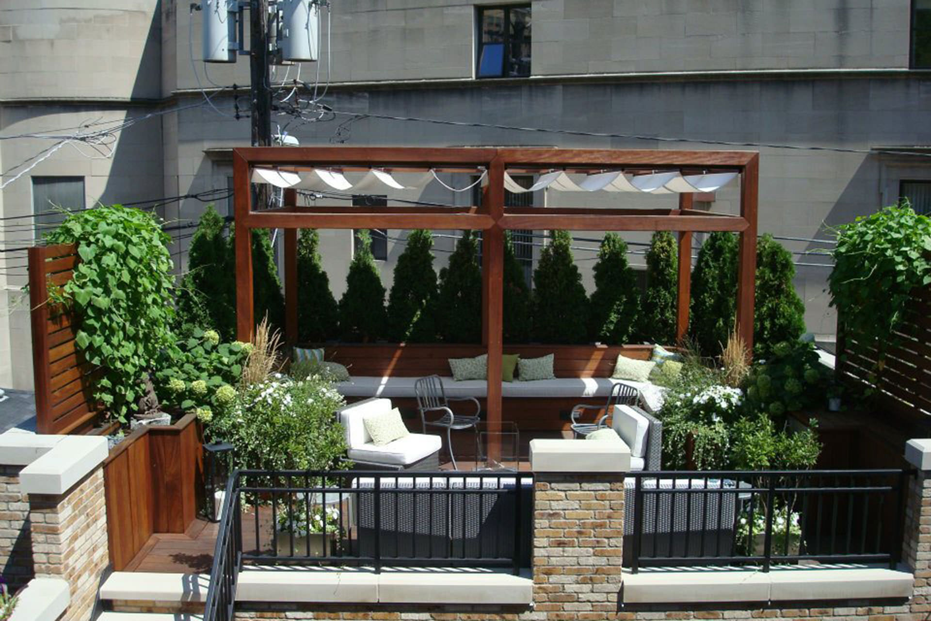 Freestanding or Attached Pergola Design