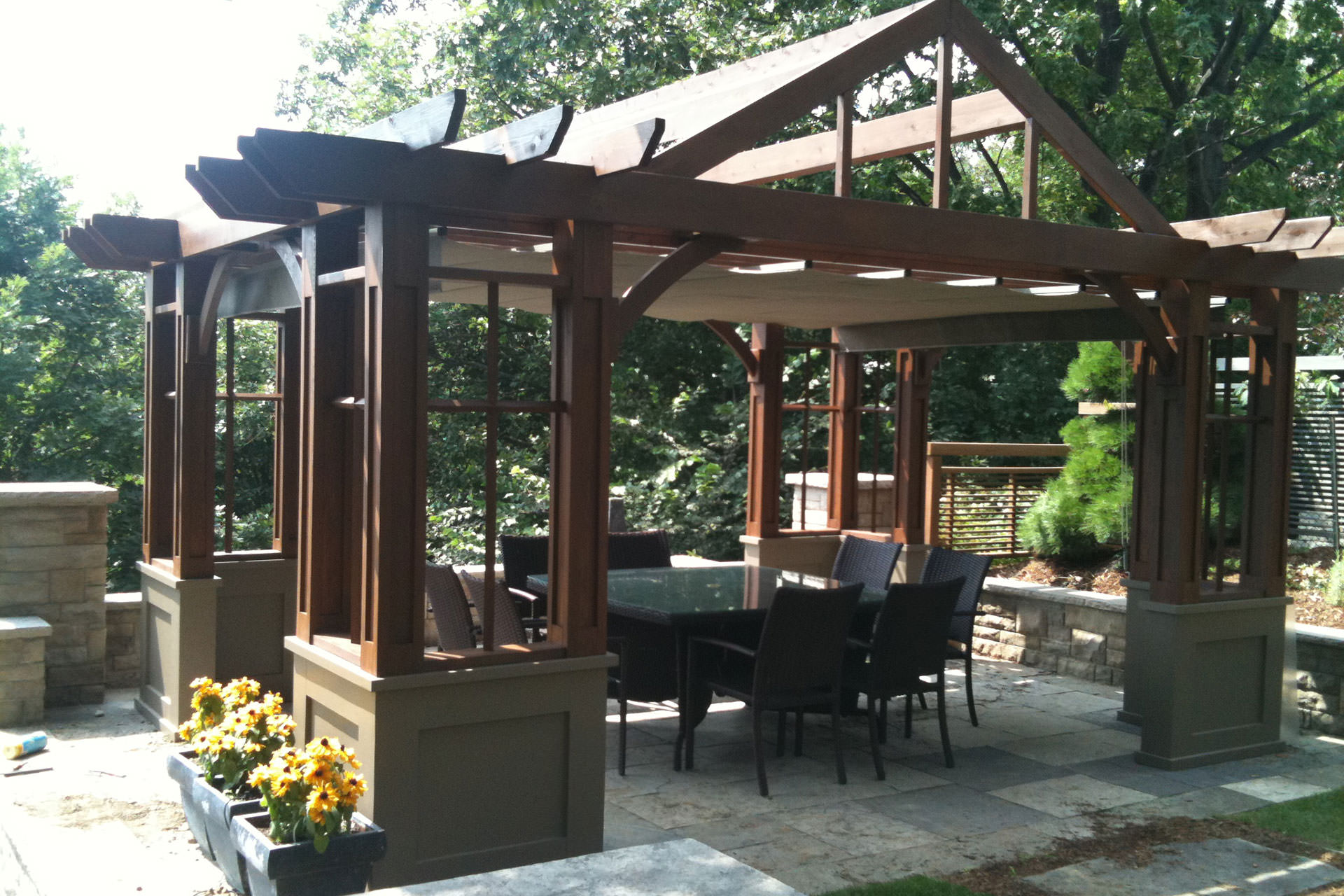 pergola plans where to start and what to consider