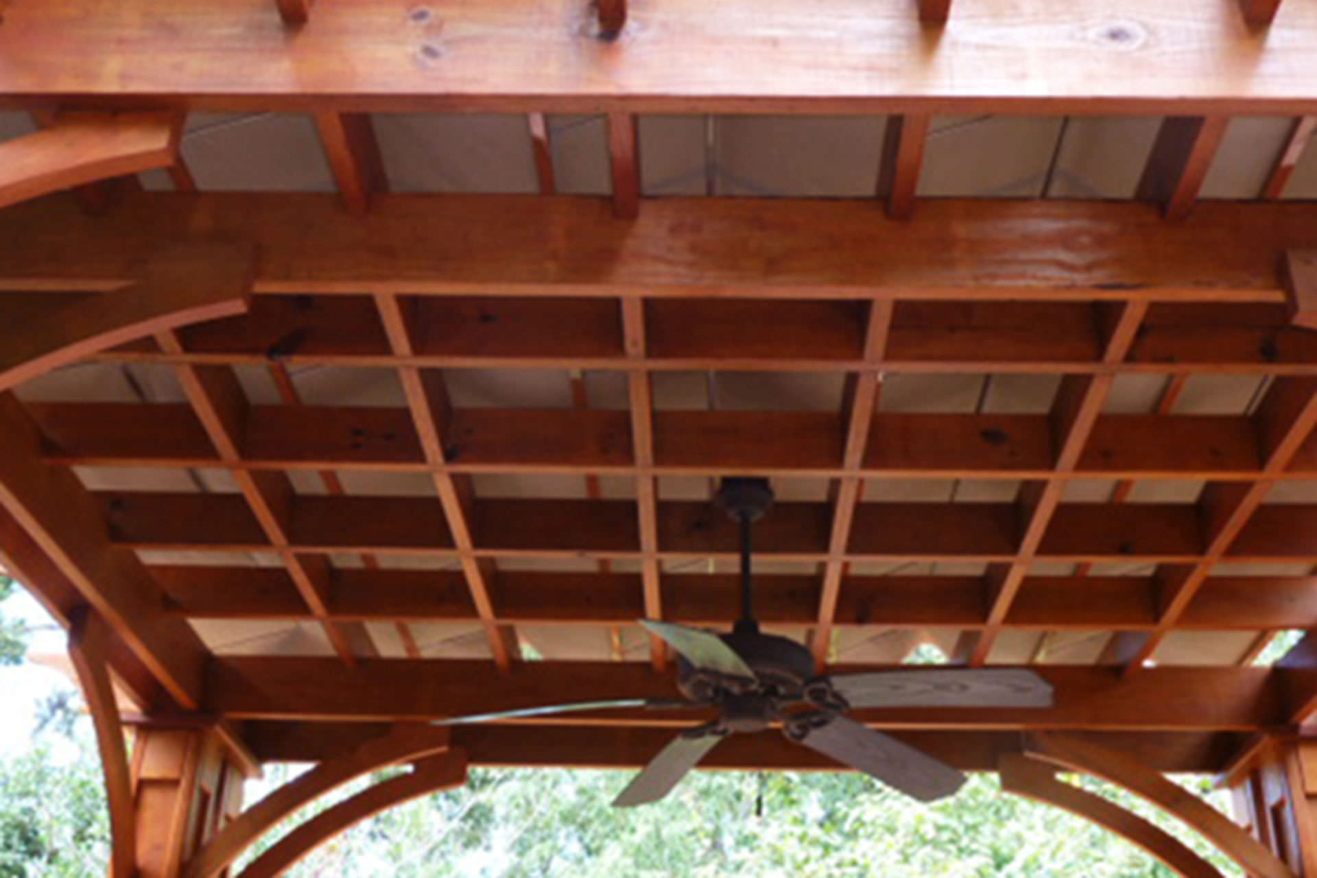 Wood pergola with roof images - Pergola with roof ...