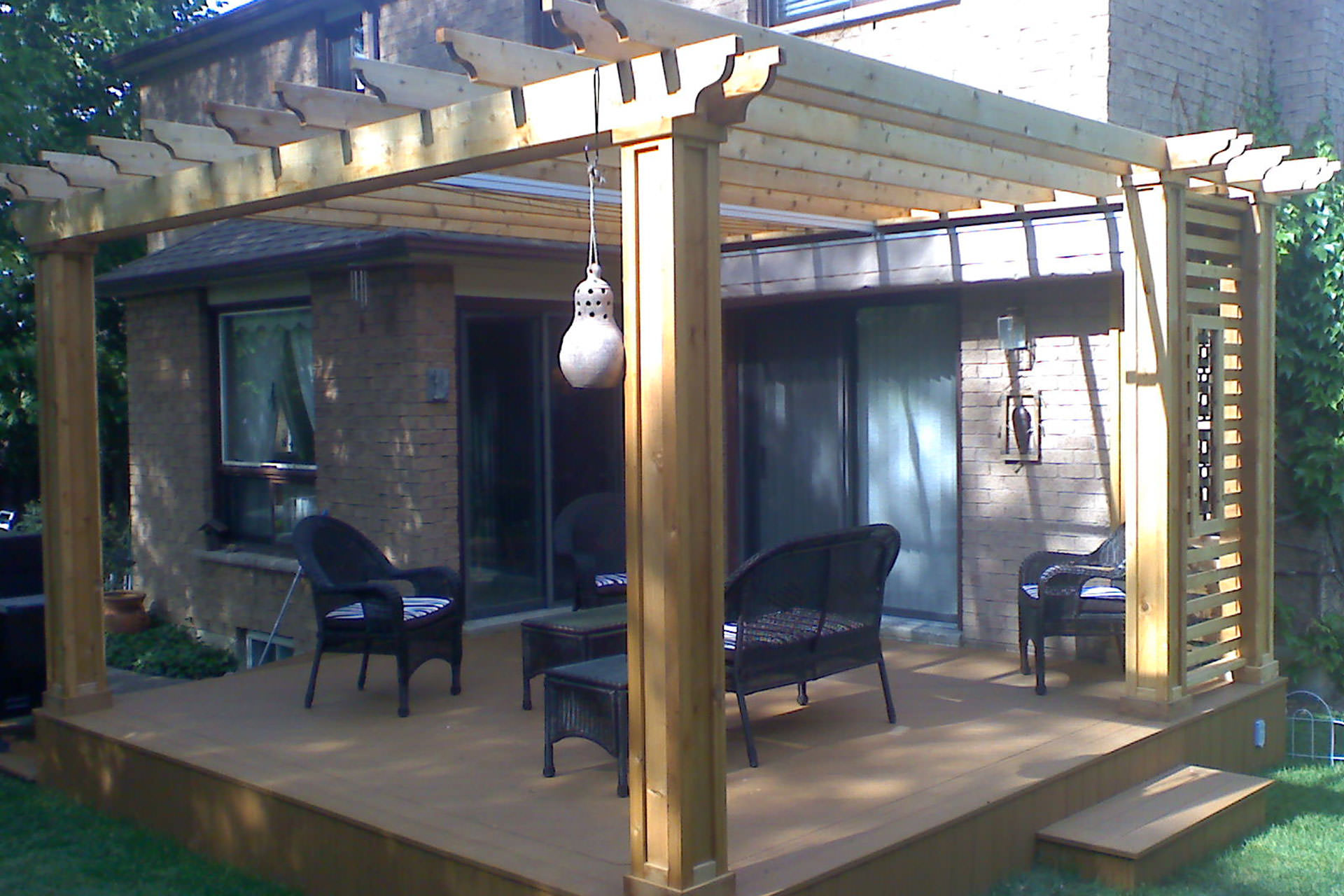 Pergola Canopy Winter Cover