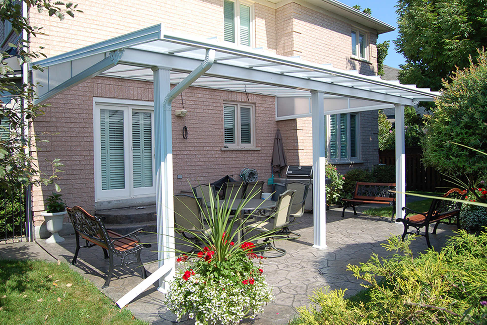 Patio Covers Extend A Magnitude Of Benefits To Homeowners. For One, They  Can Help You Save On Energy Costs; Adding Shade Around Your Home Helps It  Stay ...