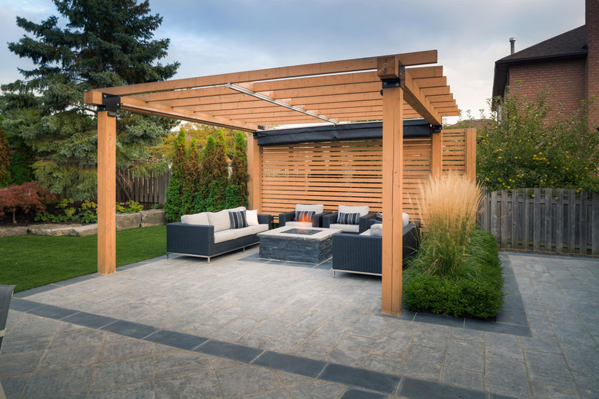 Pergola Garden Structures