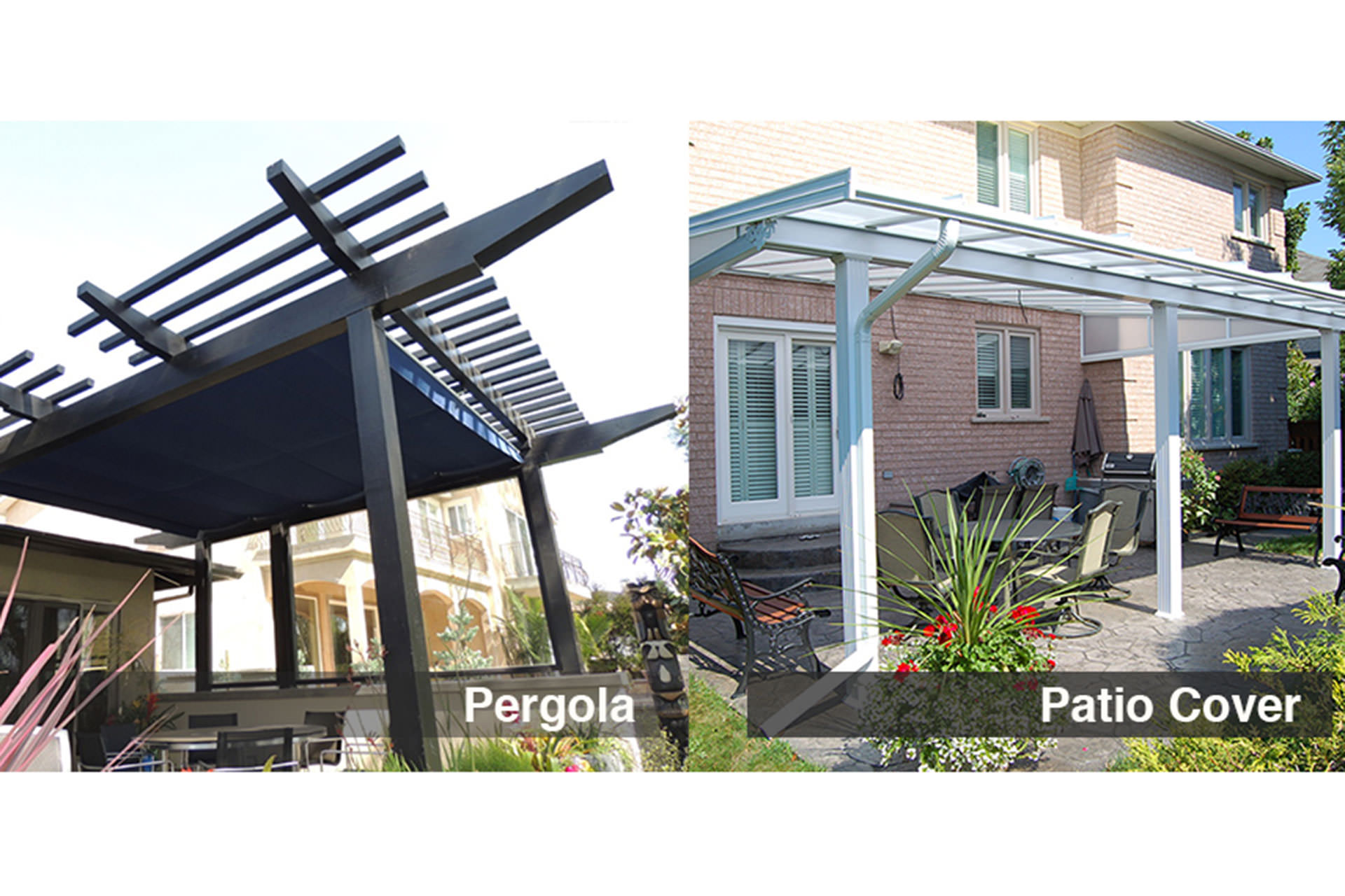 Pergolas or Patio Covers  sc 1 st  ShadeFX Canopies & Pergolas or Patio Covers: How to Choose The Right Shade Solution
