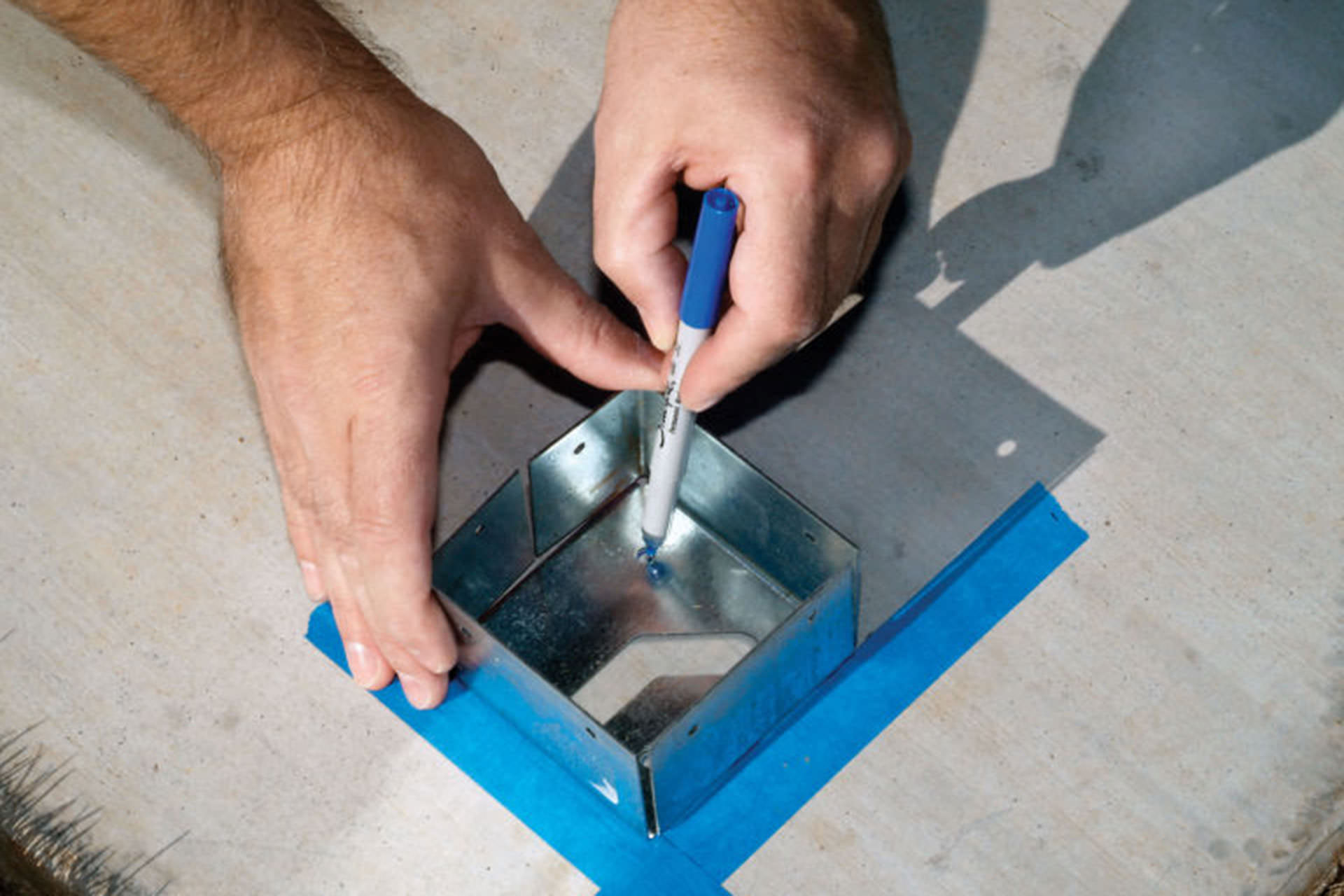 Pergola Mounting Hammer Set Fasteners