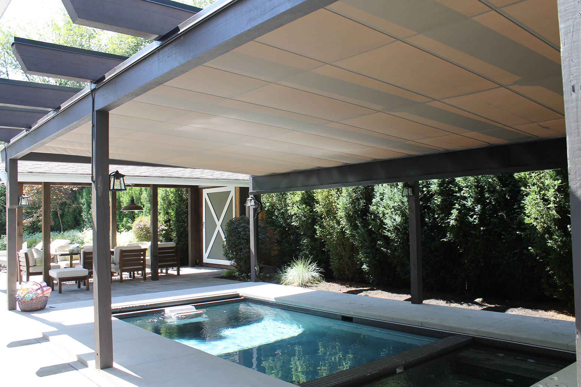 Retractable Pool Cover, Vancouver | ShadeFX Canopies