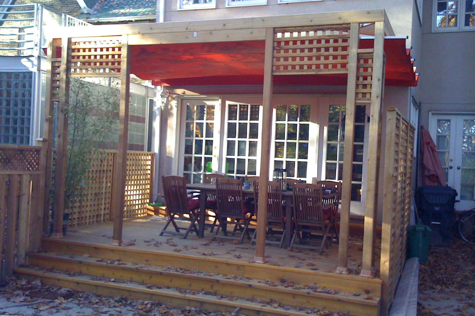 Fall Outdoor Spaces Protection