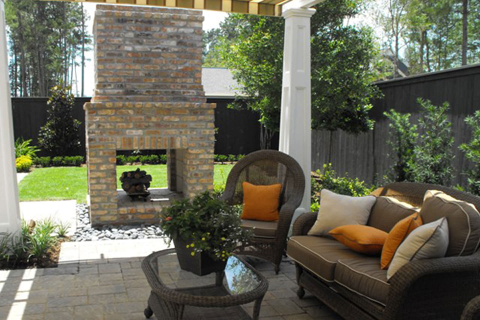 Outdoor Living Space Extended Season