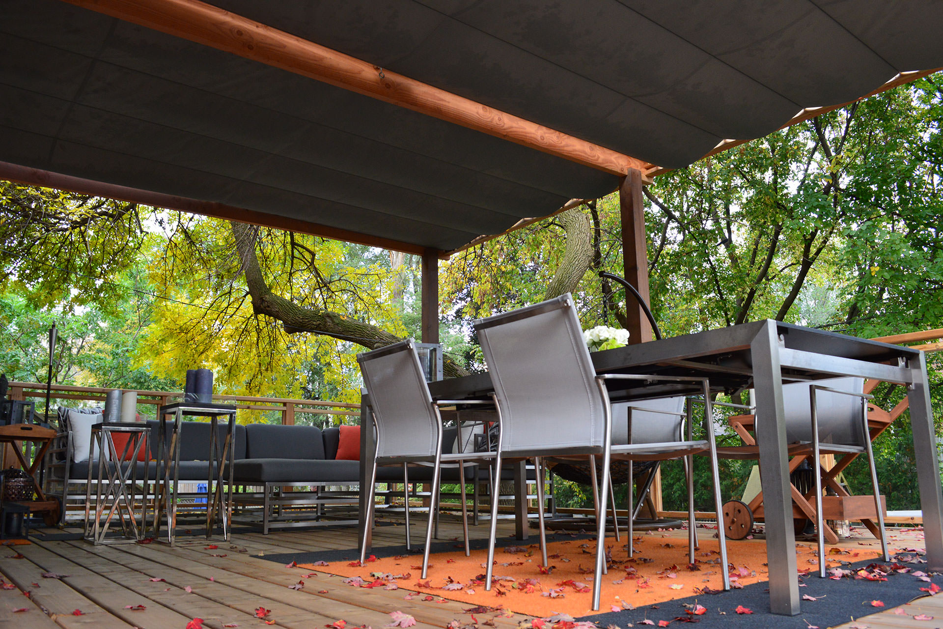 Keep Cool with These Five Patio Shade Ideas | ShadeFX Canopies on Shade Ideas For Backyard id=77055