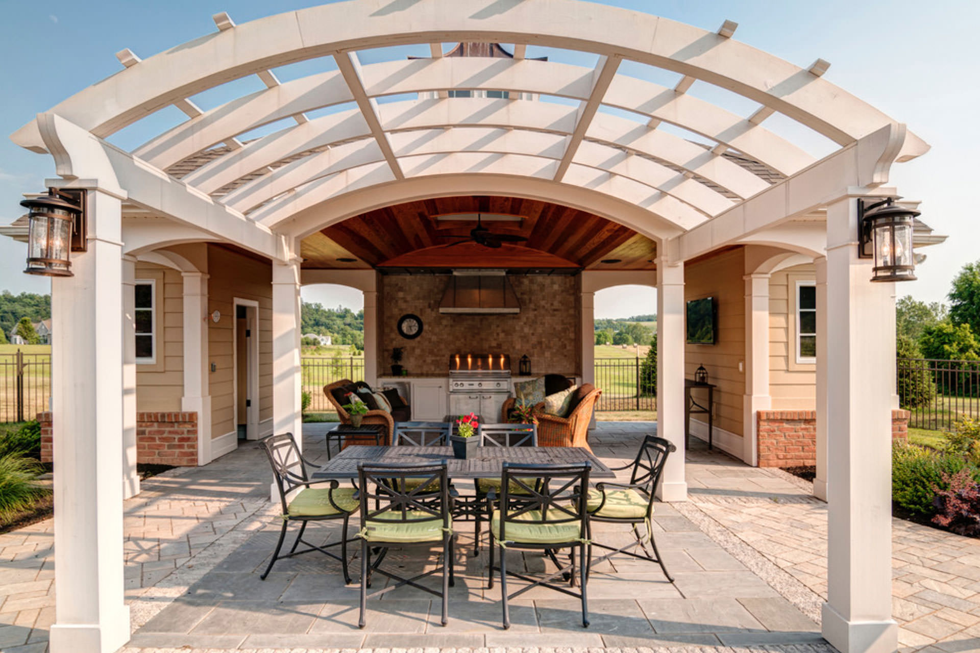 Pergola Lighting Ideas Mounted