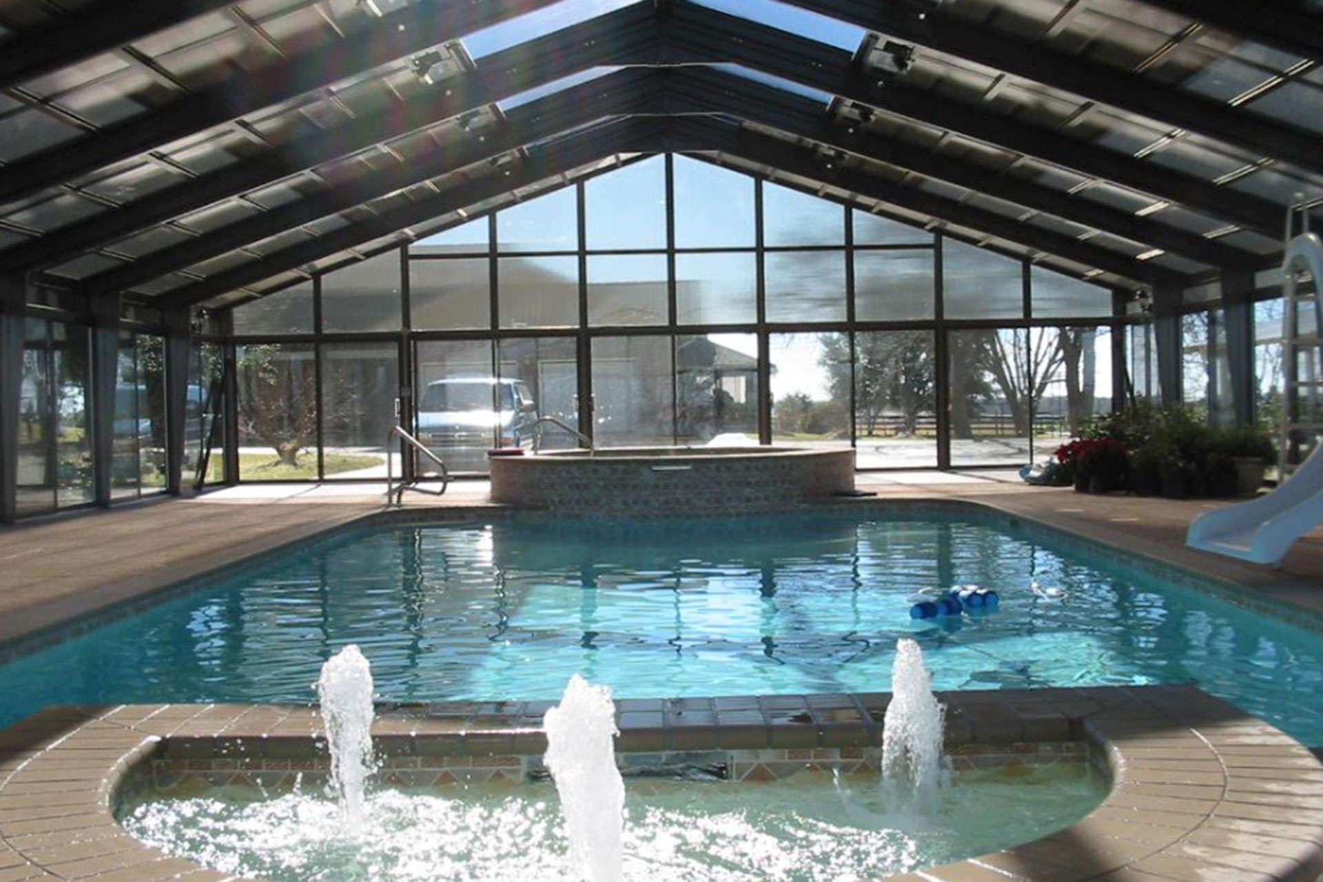 Pool Shade Ideas Enclosures