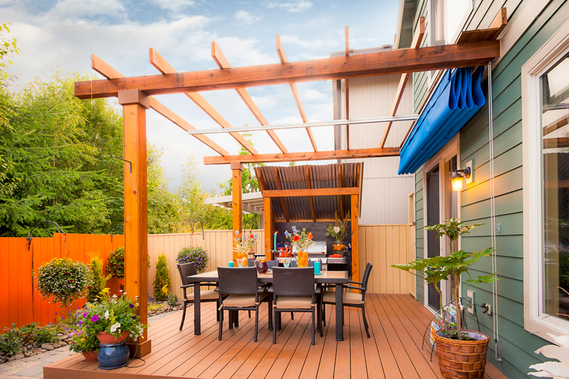 Retractable Patio Cover in Vancouver | ShadeFX Canopies on Patio Covers Ideas  id=90276