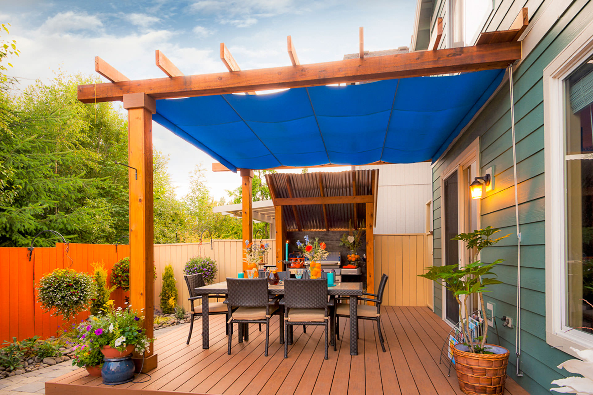 Retractable Fabric Patio Covers Shadefx Canopies
