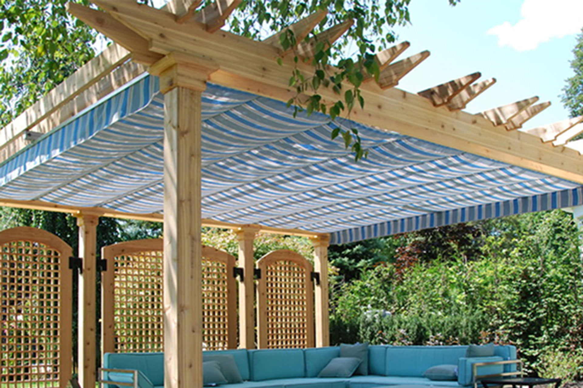 Choosing a Retractable Canopy Track: Single, Multi, Cable ...