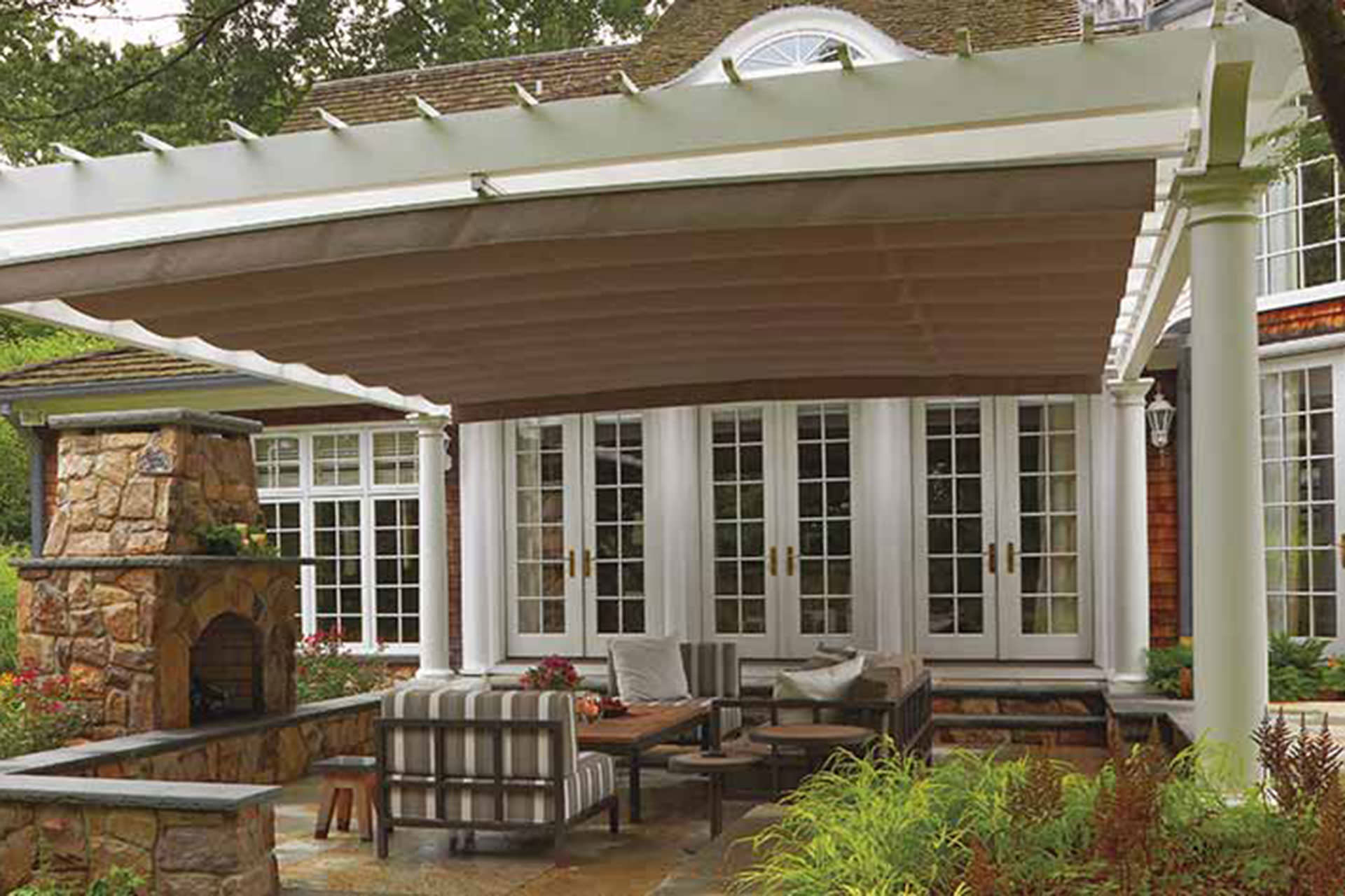 Retractable Canopy Valence