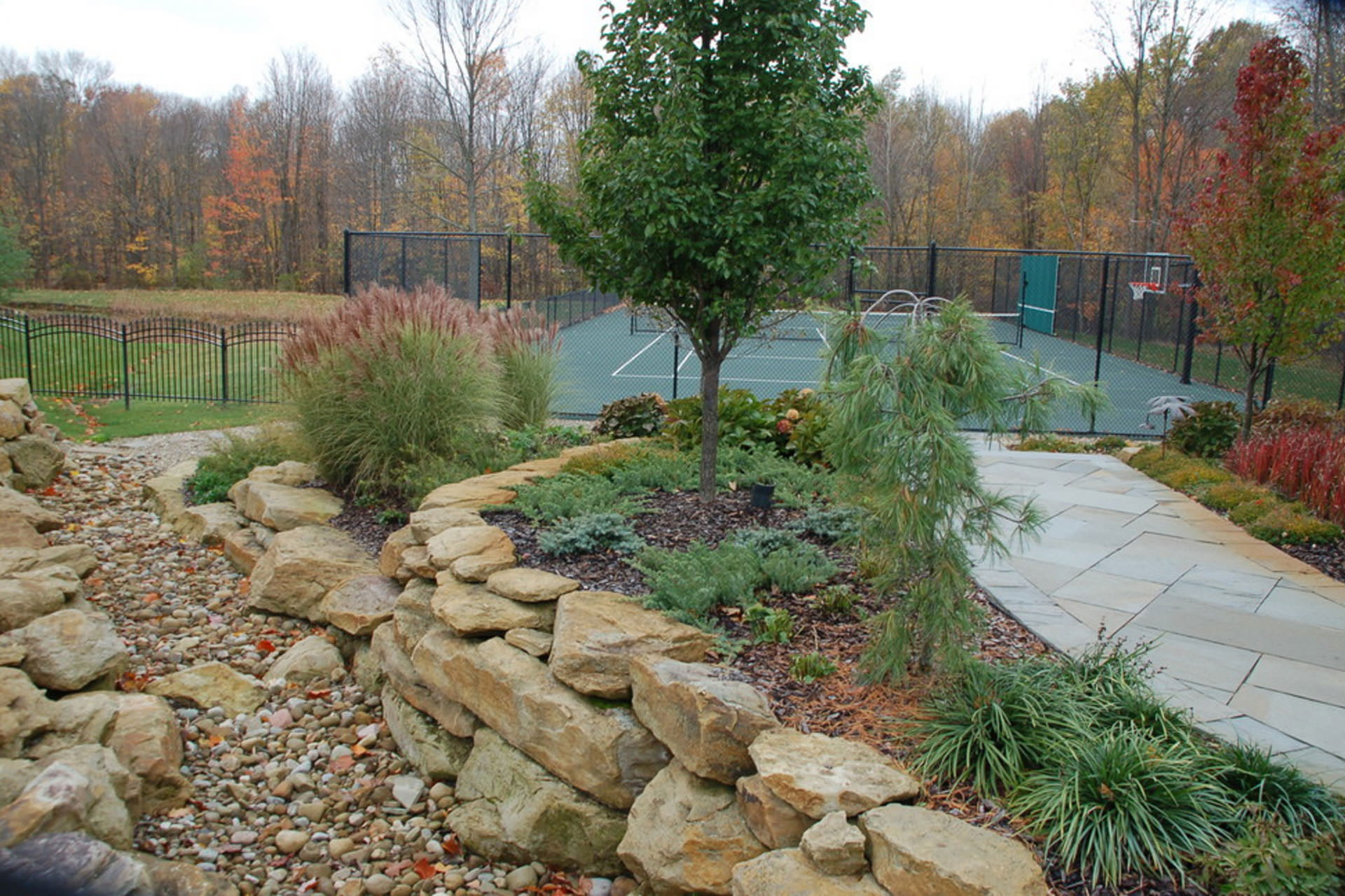 Planning an Outdoor Space - Dry Creek Bed