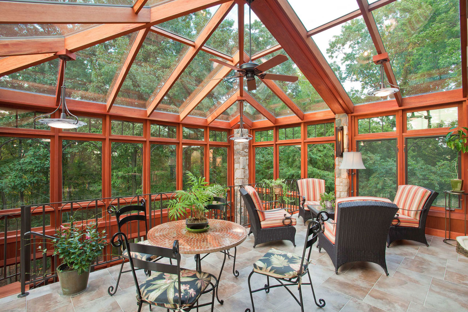 Planning An Outdoor Space - Glass Expanse