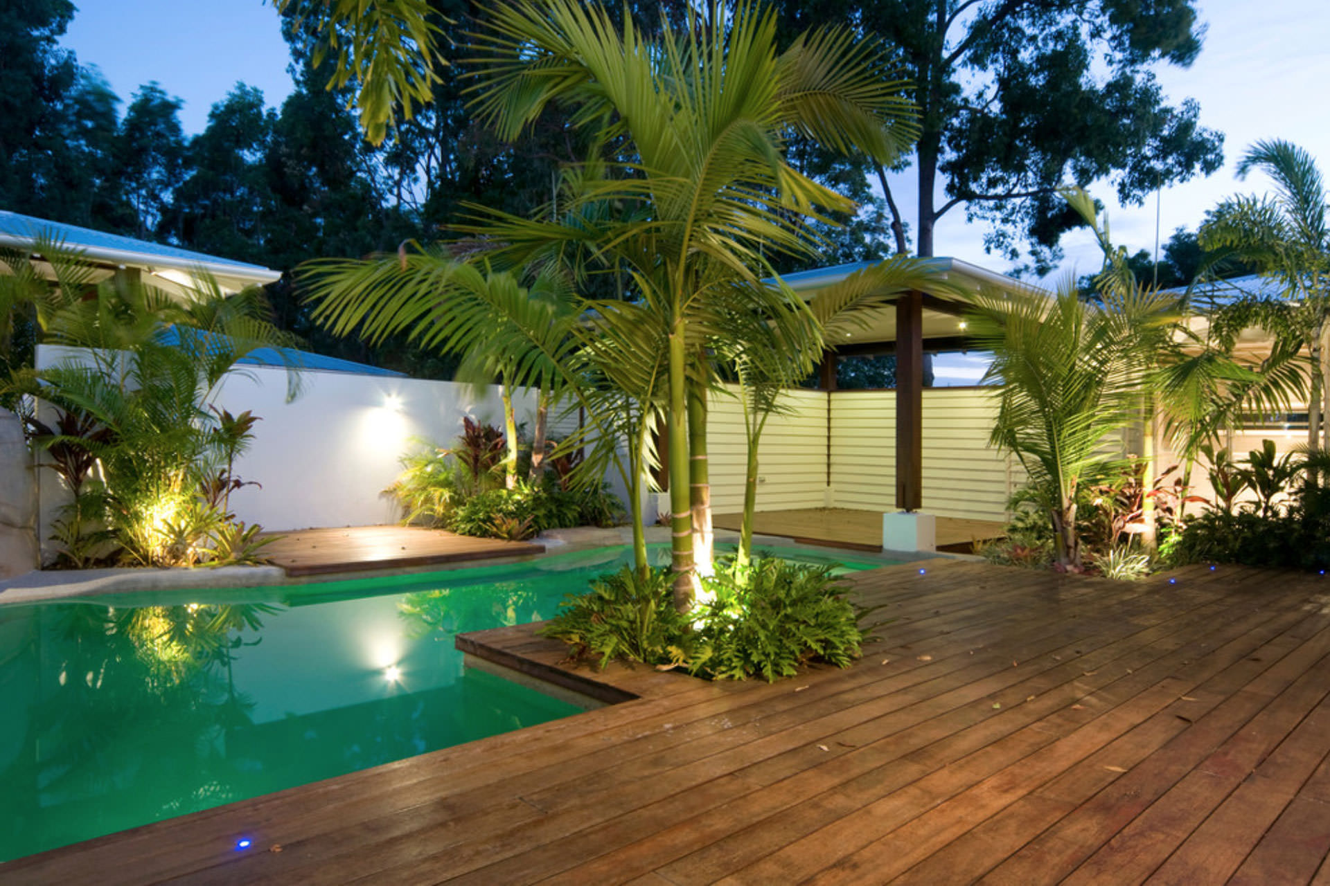 Wood Deck and Pool