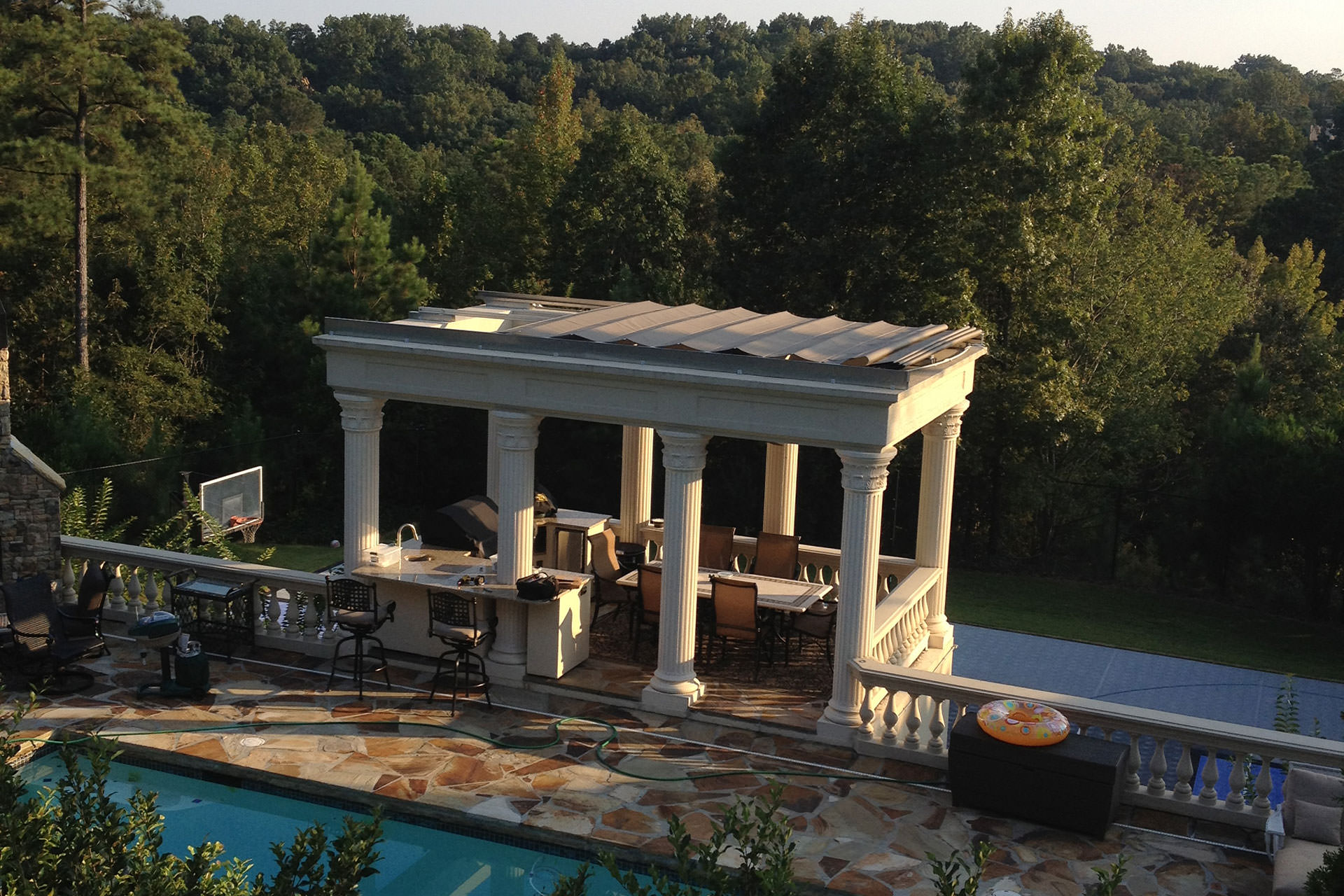 Outdoor Structures - Retractable Canopy