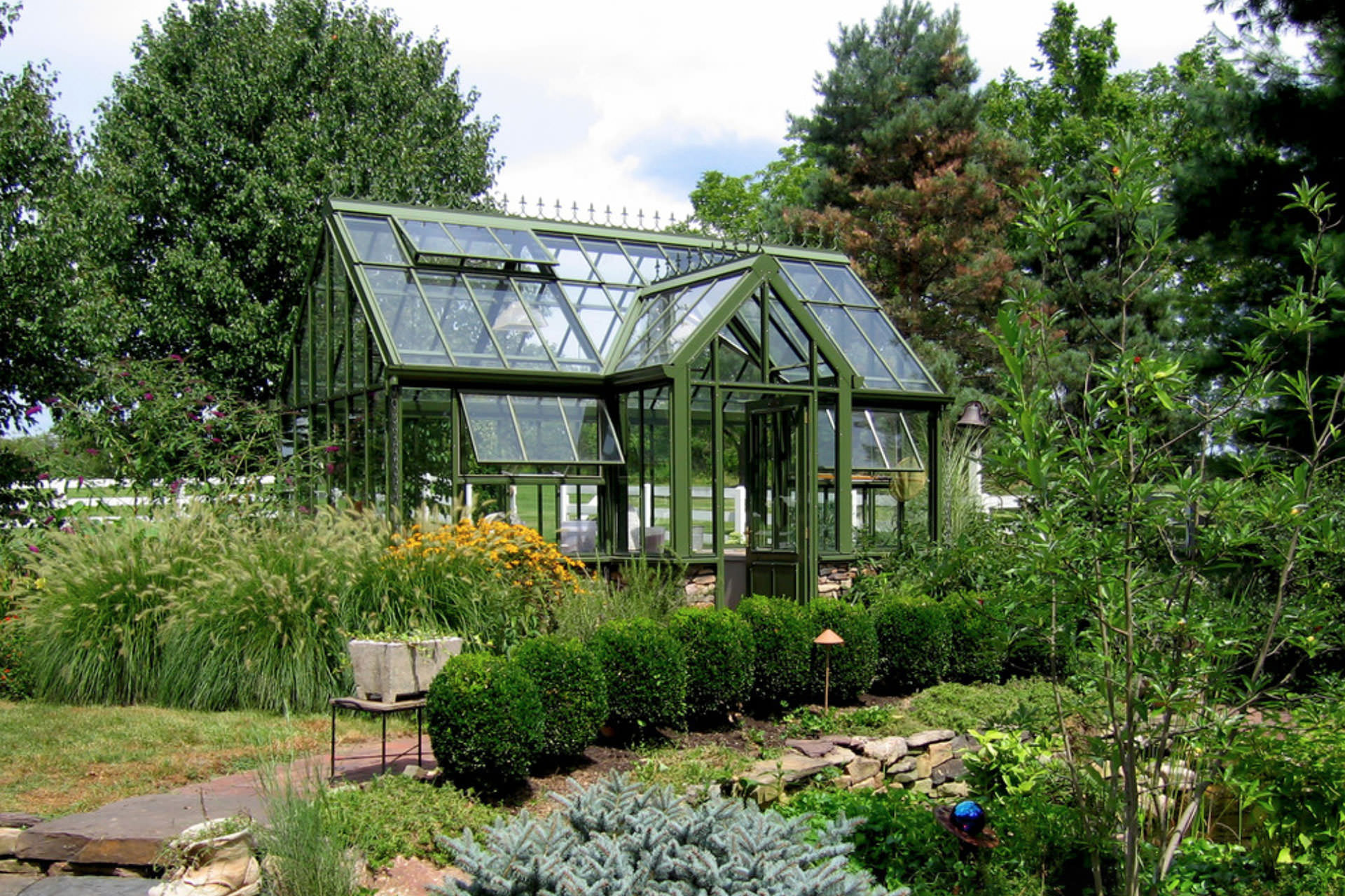 Outdoor Structures - Greenhouse
