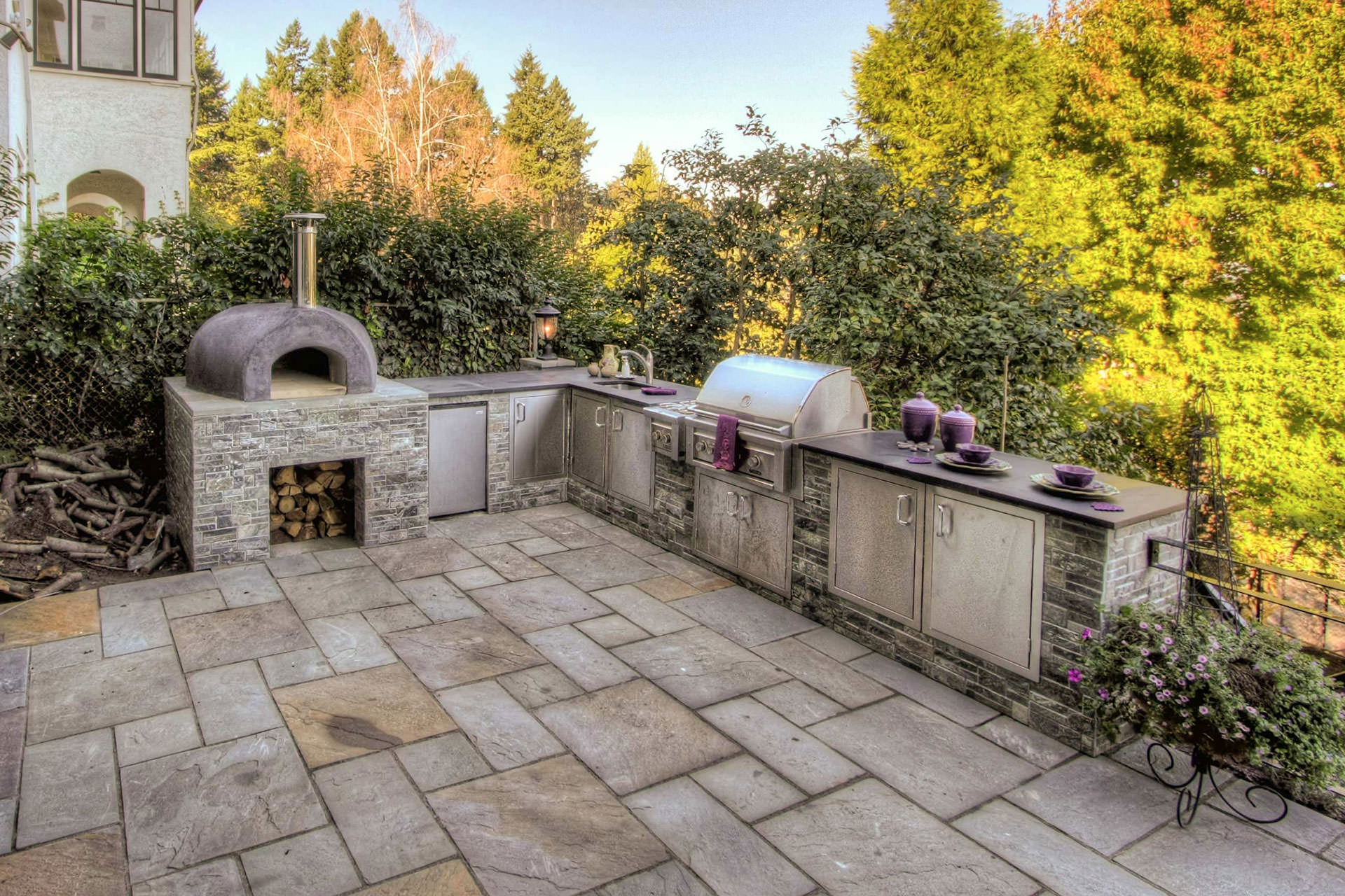 Building the dream outdoor kitchen for Build your outdoor kitchen
