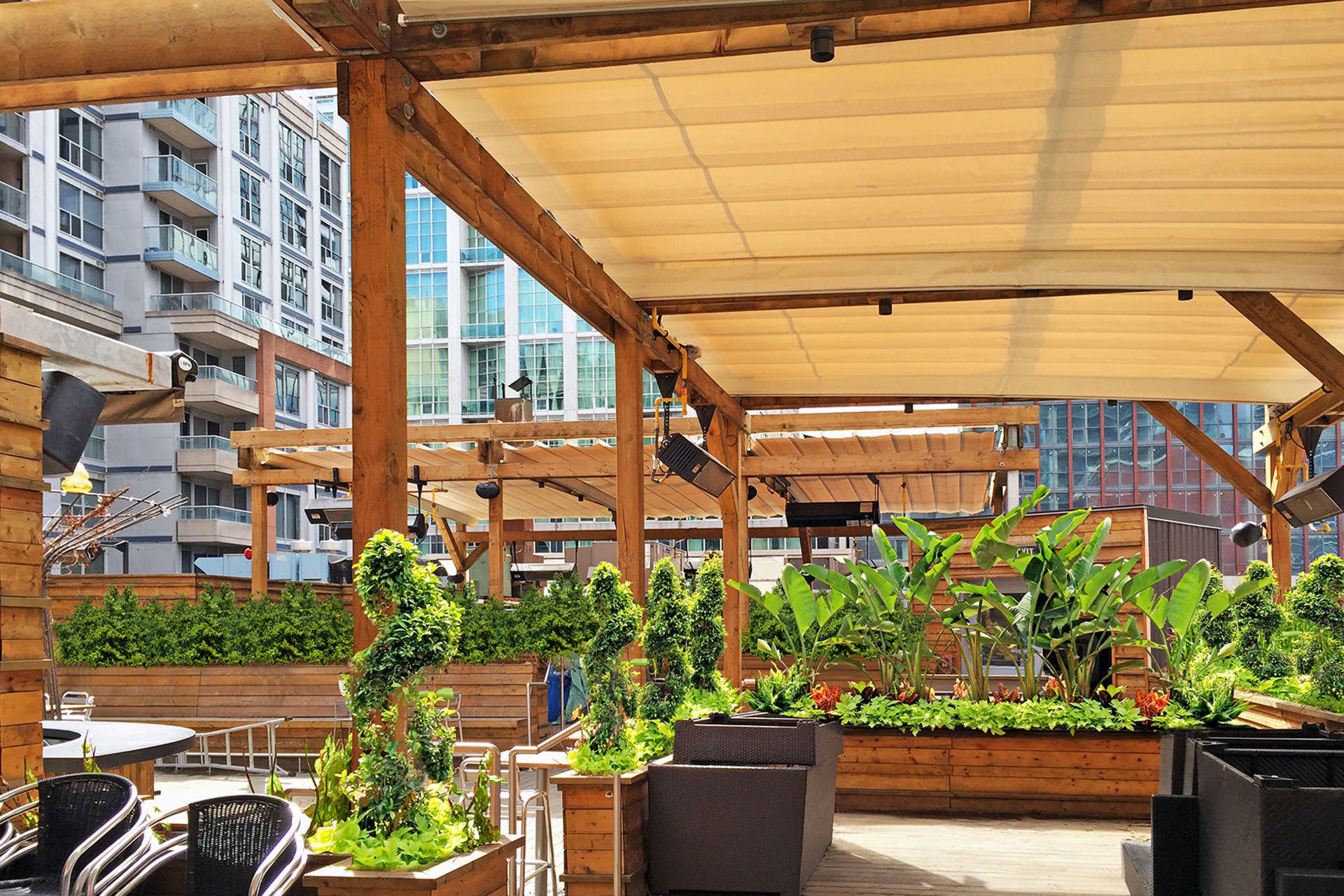 Oasis Rooftop Patio