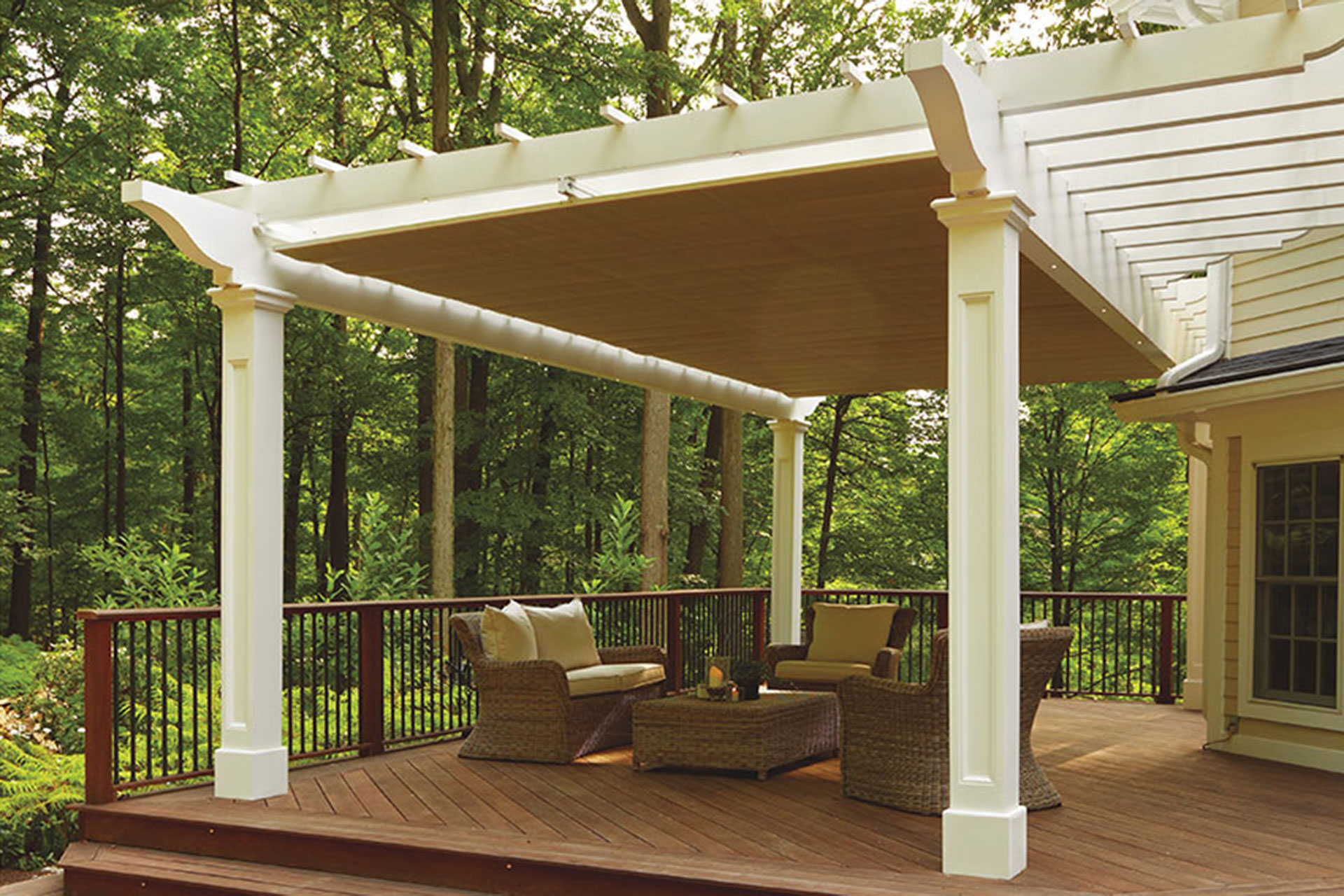 Decorative Pergola Shade Canopy