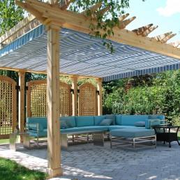 Retractable Pergola Canopy, Oakville