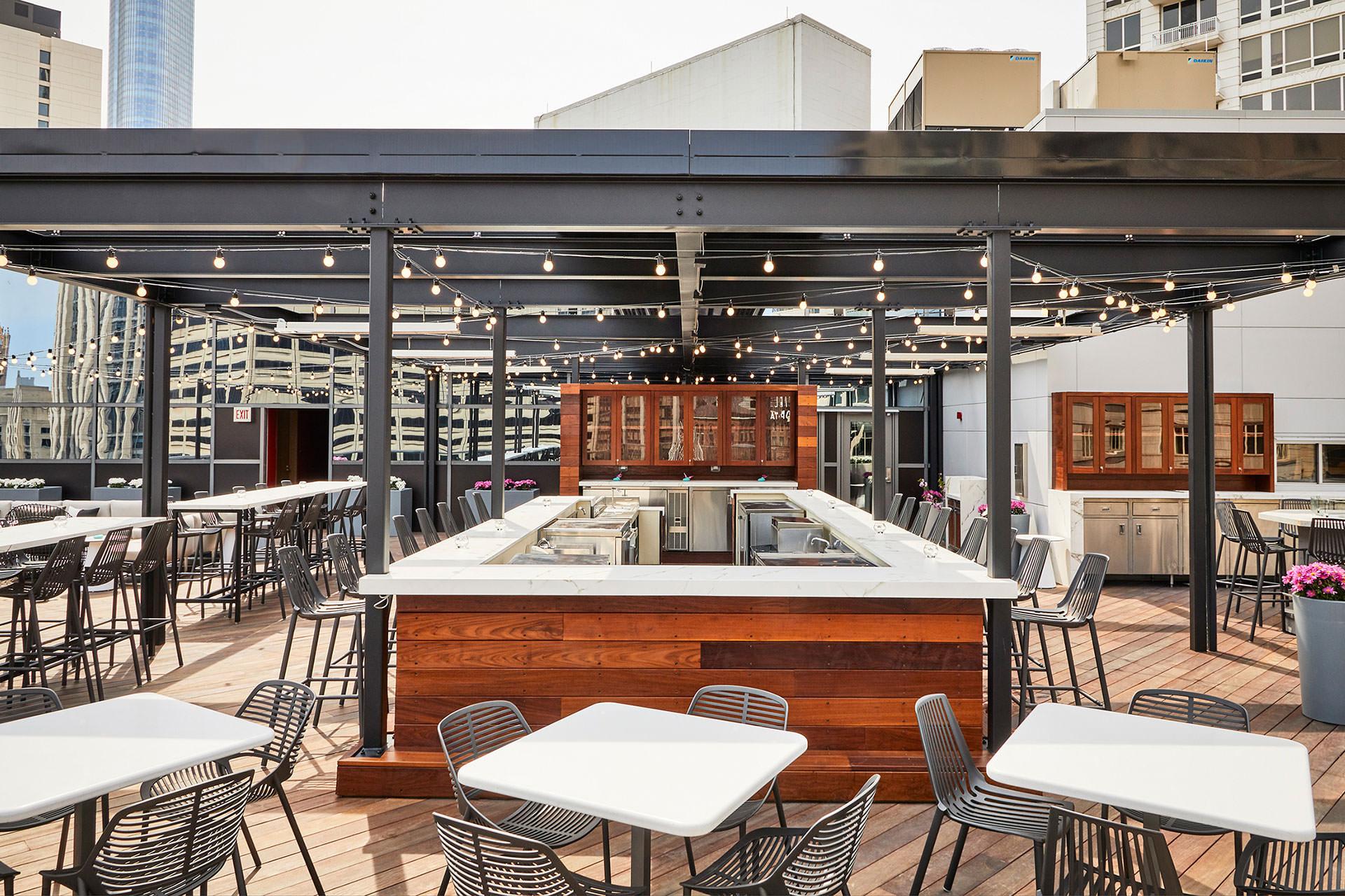 Noyane Rooftop at Conrad Hotel - ShadeFX