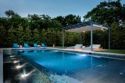 poolside shade