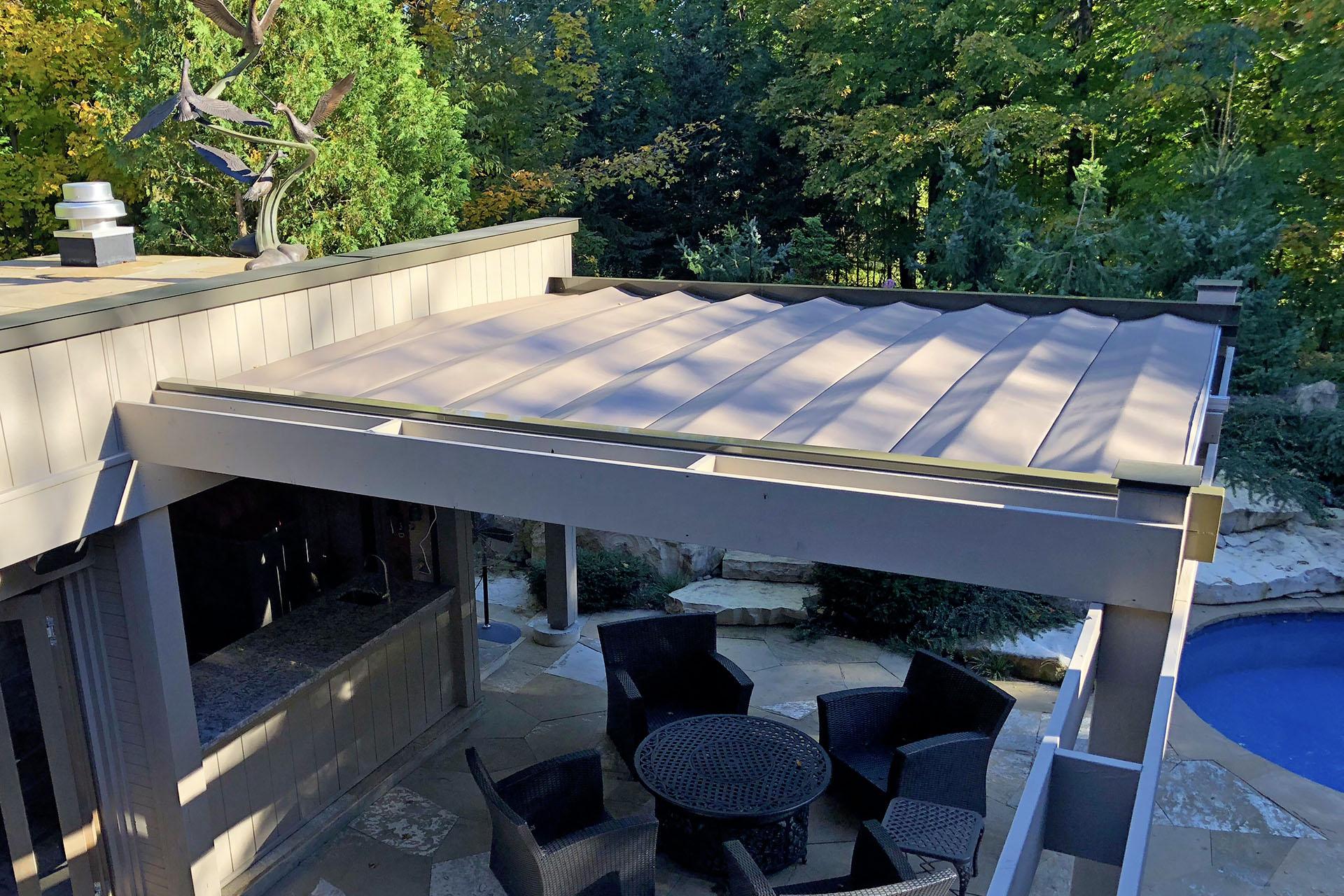 Retractable Roof Kleinburg Shadefx