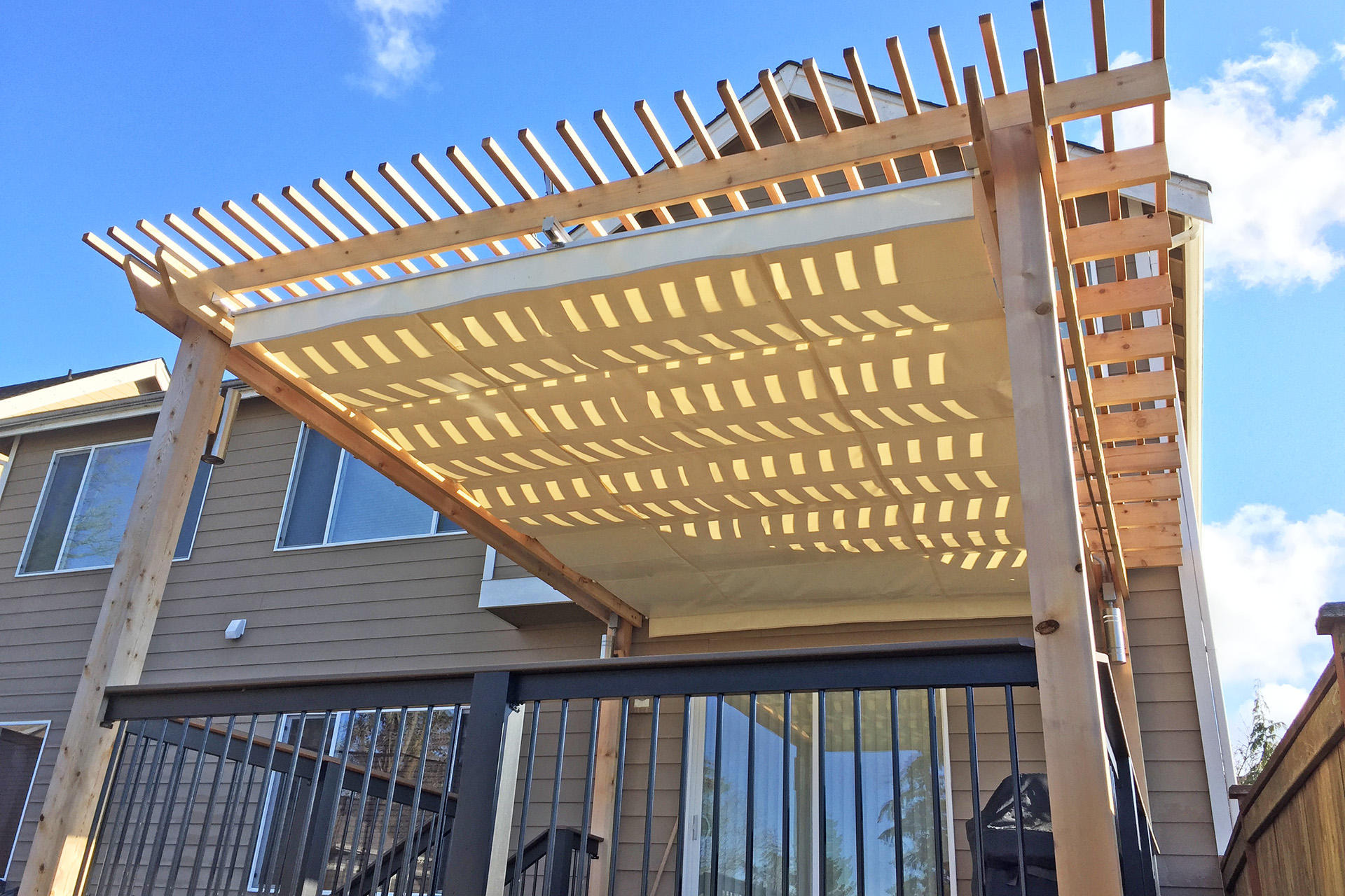 Retractable Canopy, Seattle - ShadeFX