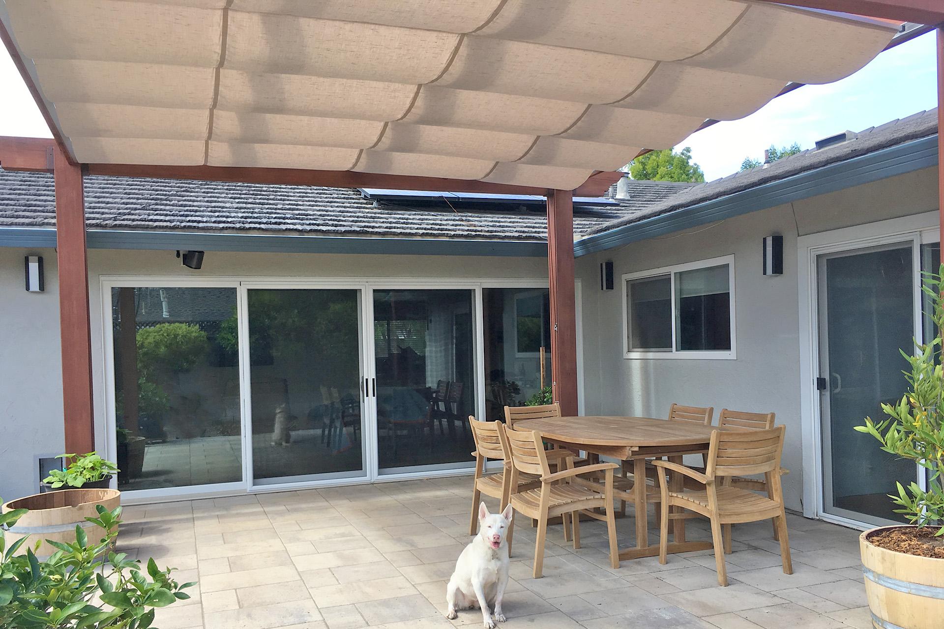 Retractable Canopy, San Jose - ShadeFX