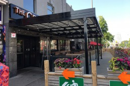 pop-up patio