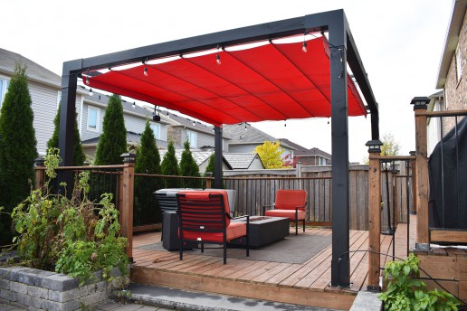 retractable shade