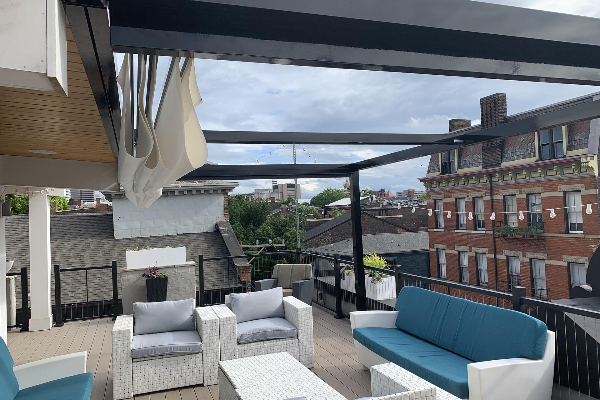 Retractable Canopy, Cincinnati - ShadeFX